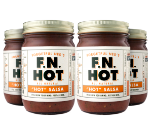 4-Pack Hot Salsa